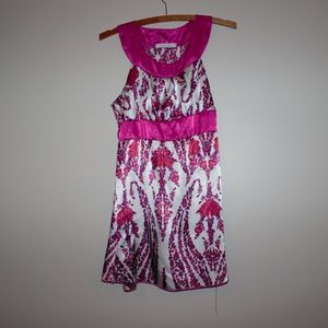Charlotte Russe Mini Dress Pink Floral Small